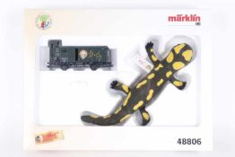 Märklin 48806, Steiff SonderpackungMärklin 48806, Steiff Sonderpackung, Länderbahnwagen,