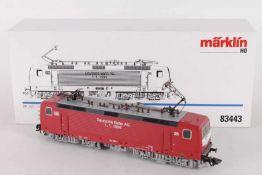 """Märklin 83443, Elektrolok """"143 094-1"""" der DB / DRMärklin 83443, Elektrolok """"143 094-1"""" der DB /"""