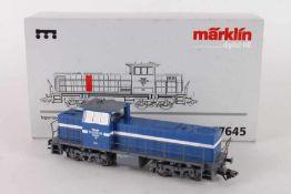 """Märklin 37645, Disellok """"14"""" der Tegernsee-BahnMärklin 37645, Diesellok """"14"""" der Tegernsee-Bahn,"""