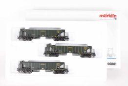 """Märklin 46801, Wagen-Set """"Kohlentrichterwagen""""Märklin 46801, Wagen-Set """"Kohlentrichterwagen"""". drei"""