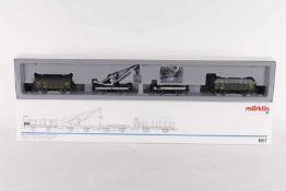 Märklin 4897, Wagen-Set der K.Bay.Sts.B. zum Torf-TransportMärklin 4897, Wagen-Set der K.Bay.Sts.