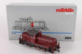 """Märklin 3664, Diesellok """"260 921-2"""" der DBMärklin 3664, Diesellok """"260 921-2"""" der DB, sehr gut"""