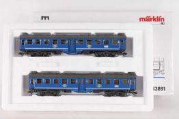 """Märklin 42891, Wagenset """"Tegernsee-Bahn""""Märklin 42891, Wagenset """"Tegernsee-Bahn"""", zwei vierachsige"""