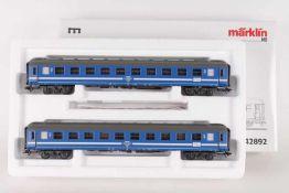"Märklin 42892, Wagen-Set ""Tegernsee""Märklin 42892, Wagen-Set ""Tegernsee"", zwei vierachsige"