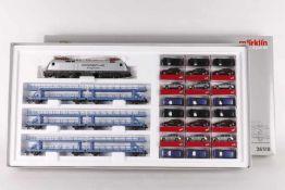 """Märklin 26518, Autotransportzug """"Cayenne""""Märklin 26518, Autotransportzug """"Cayenne"""", Elektrolok """""""