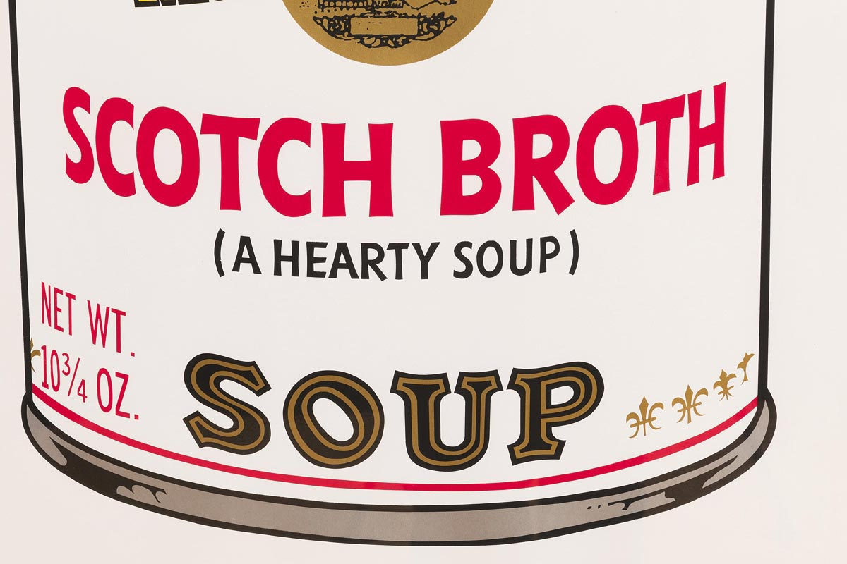 Lot 46 - Andy Warhol (1928-1987) Scotch Broth, from Campbell's Soup II, 1969 (F. & S. II.55)