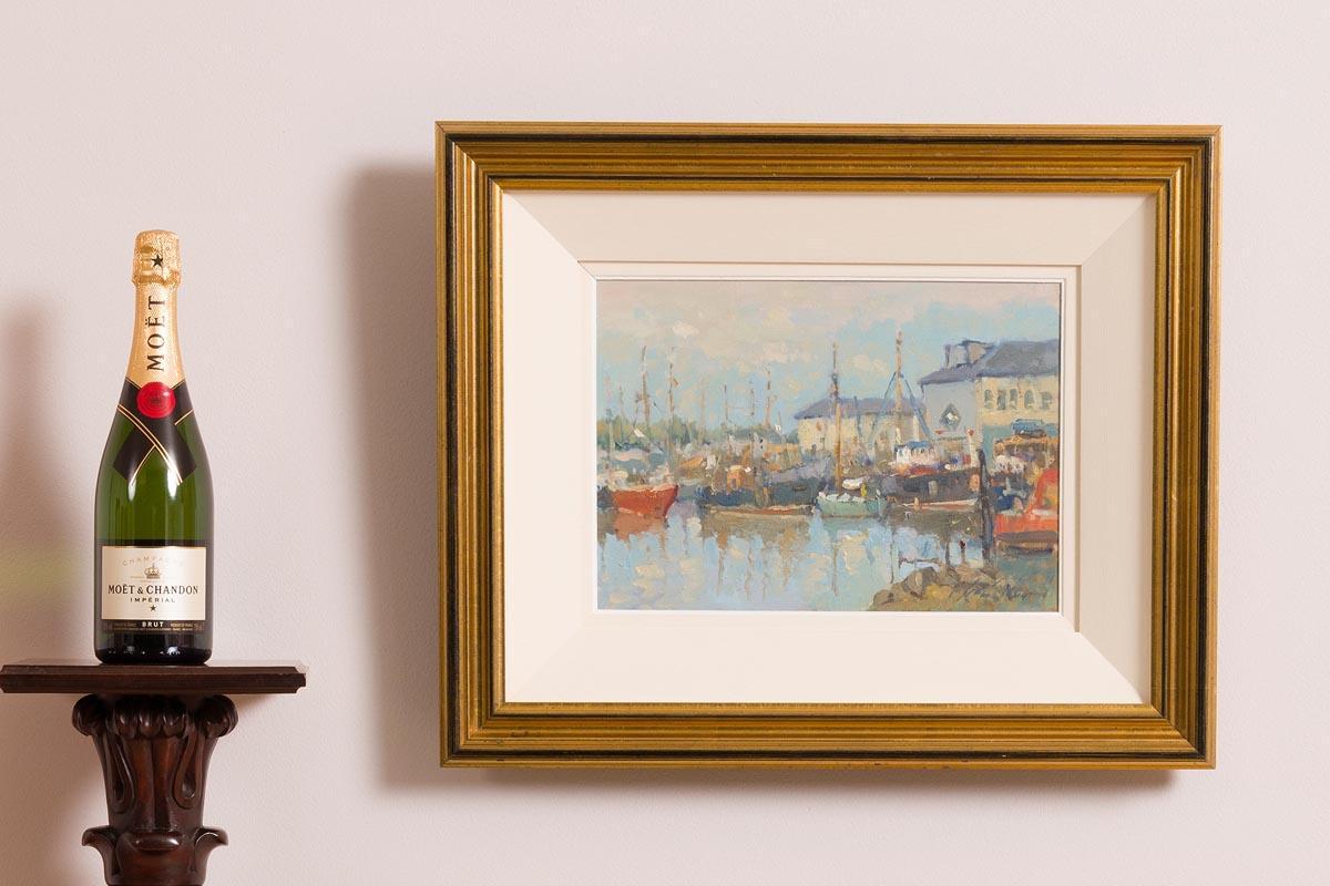 Lot 3 - Liam Treacy RHA (1934-2005) Arklow Harbour