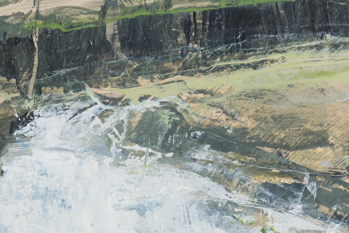 Lot 37 - Donald Teskey RHA (b.1956) Inagh Valley, Connemara