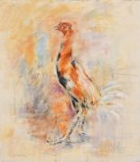 Lot 51 - Basil Blackshaw HRHA RUA (1932-2016) Cockerel