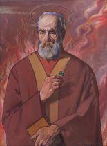 Lot 31 - Patrick Tuohy RHA (1893-1930) Saint Patrick (1925-26)