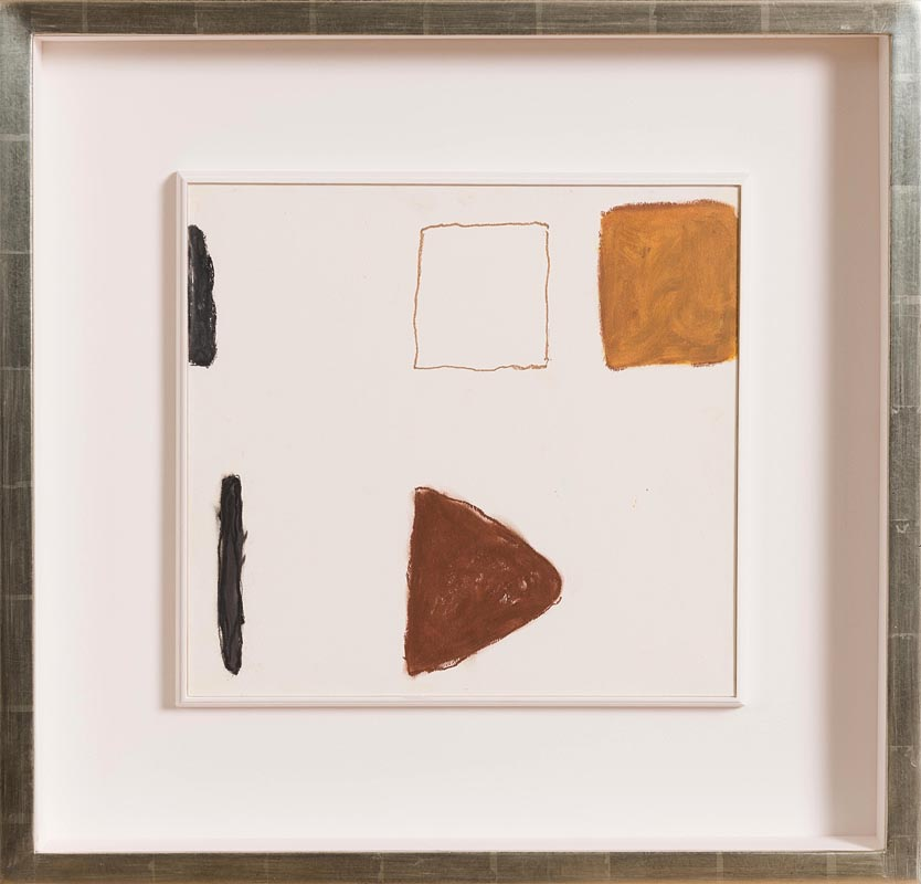 Lot 49 - William Scott OBE RA (1913-1989) Abstract Composition (1964)