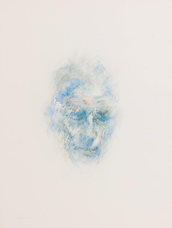 Lot 57 - Louis Le Brocquy HRHA (1916-2012) Image of Samuel Beckett (1992)