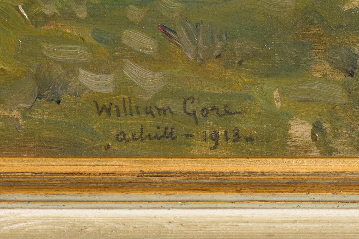 Lot 16 - William Crampton Gore RHA (1871-1946) Achill (1913)