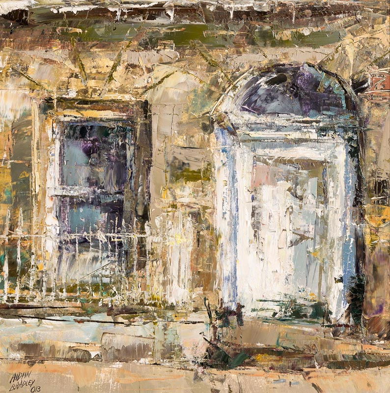 Lot 11 - Aidan Bradley (b.1961) Georgian Dublin (2013)