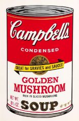 Lot 44 - Andy Warhol (1928-1987) Golden Mushroom, from Campbell's Soup II, 1969 (F. & S. II.62)