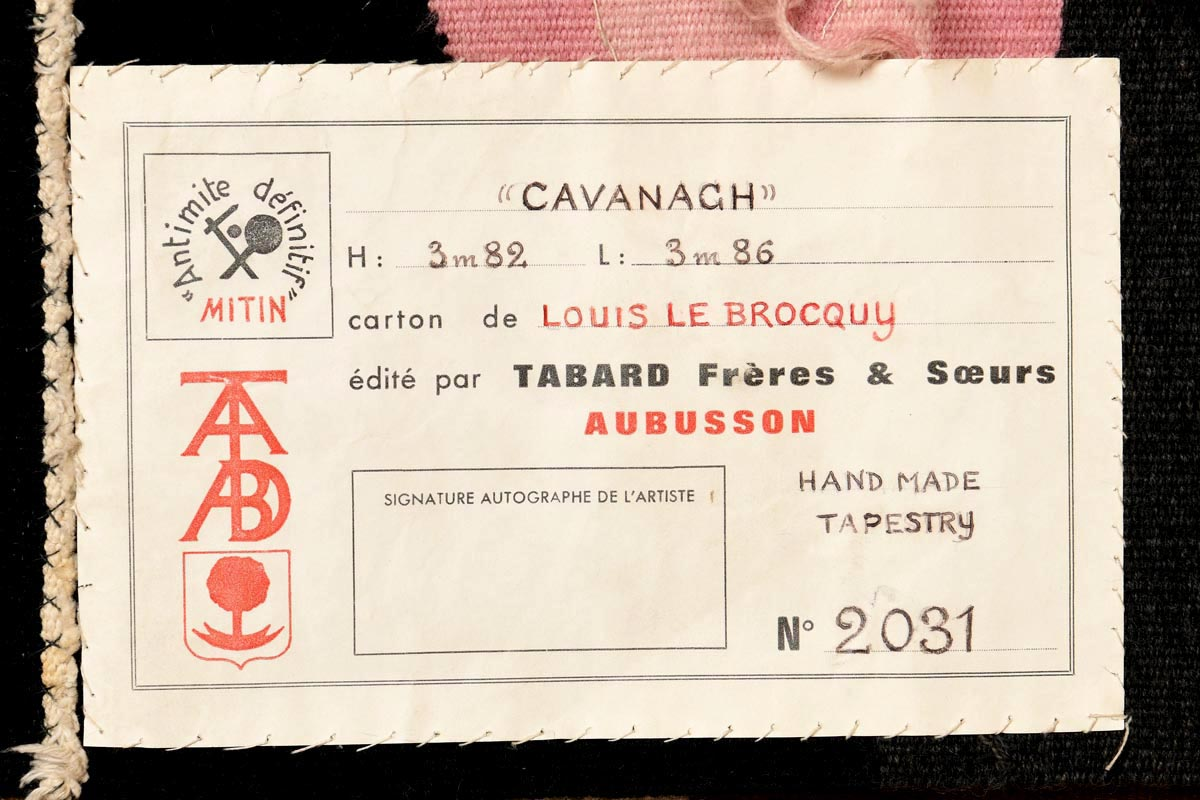 Lot 53 - Louis Le Brocquy HRHA (1916-2012) Cavanagh (1974)
