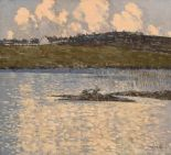 Lot 18 - Paul Henry RHA RUA (1876-1958) Waterville, Co Kerry