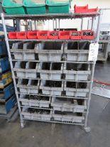 Lot 3 - (Lot) Hardware w/ Cart