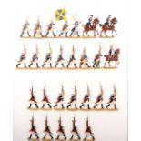 Preußen um 1760, Infanterie-Regiment Nr. 29, Grenadiere vorgehend, Kieler Zinnfiguren, Kilia,