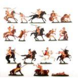 Altertum, Kampf um Troja, Amazonen-Schlacht, Hafer, hervorragende, schattierte Bemalung von v. Hofe,