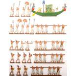 Altertum, Ägypten, Pharao Ramses, Prozession zu Ehren des Sonnengottes Amun-Re, Lecke, sehr gute,