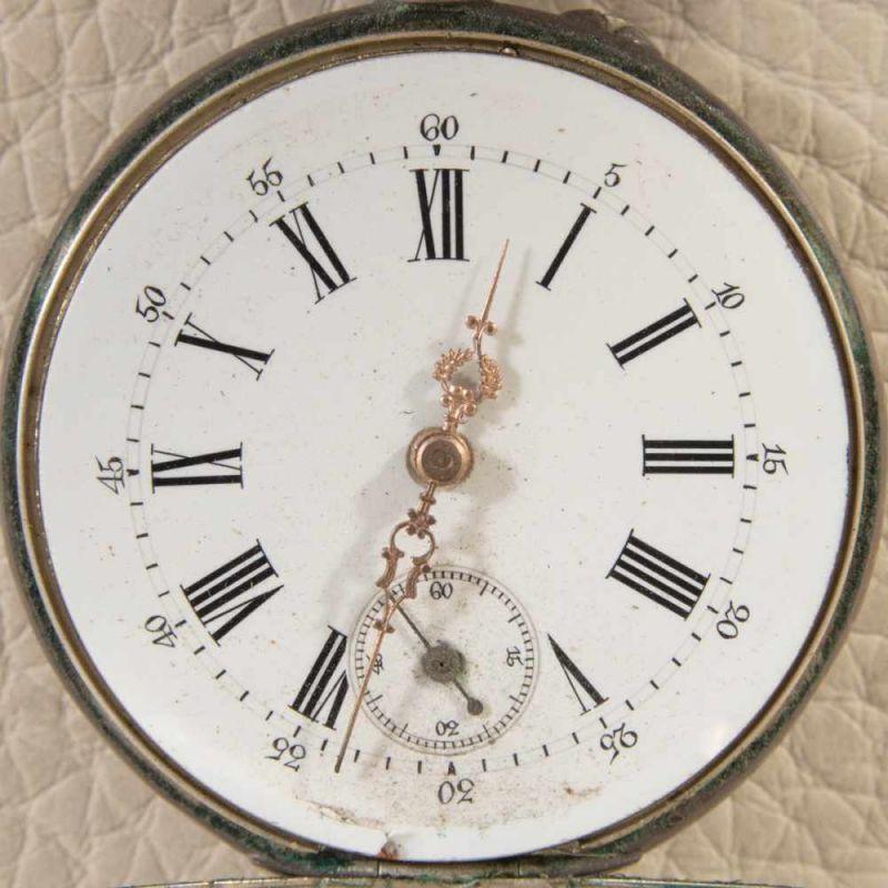 """Lot 5810 - 2 alte/antike Taschenuhren, Silber, 1 x bez.: """"Hermann Krüsken - Aachen."""" Werke nicht auf"""