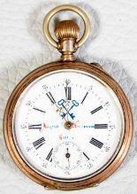 Lot 5811 - 2 alte/antike Herrentaschenuhren, 800er Silbergehäuse, versch. Alter, Größen & Erhalt. 1