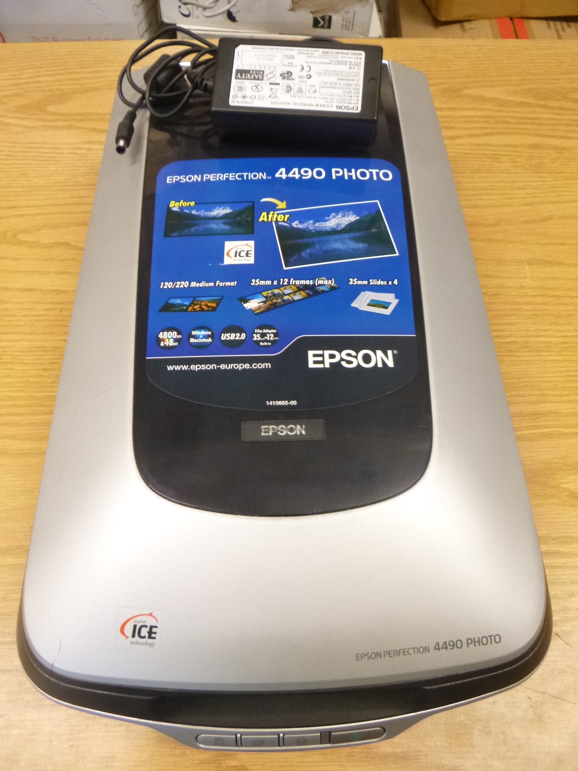 Epson Perfection 4490 Photo Flatbed Scanner With Psu Model Number