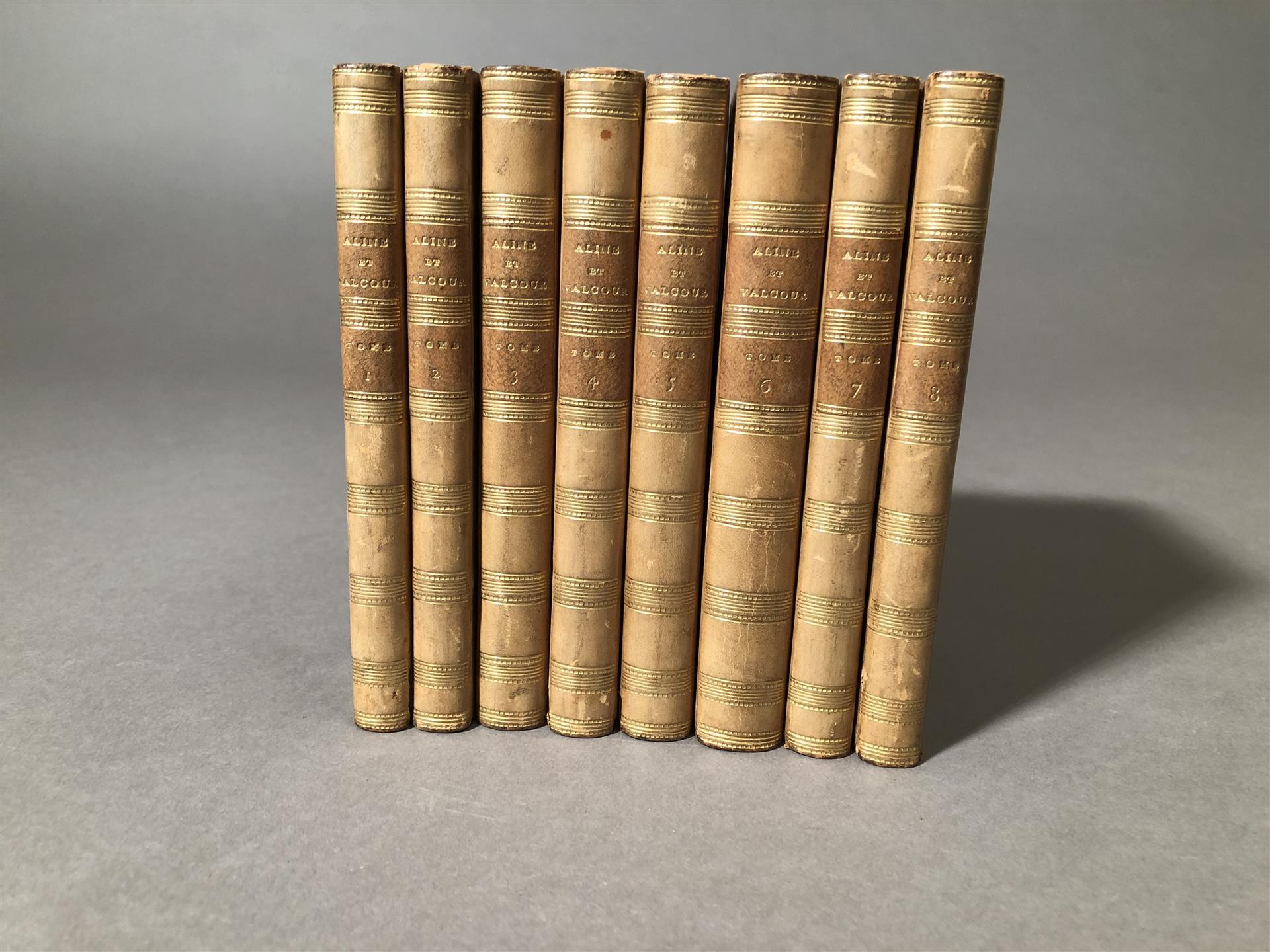 Lot 7 - [SADE (D.A.F.)], Aline et Valcour ou Le Roman philosophique écrit à la Bastille, [...]