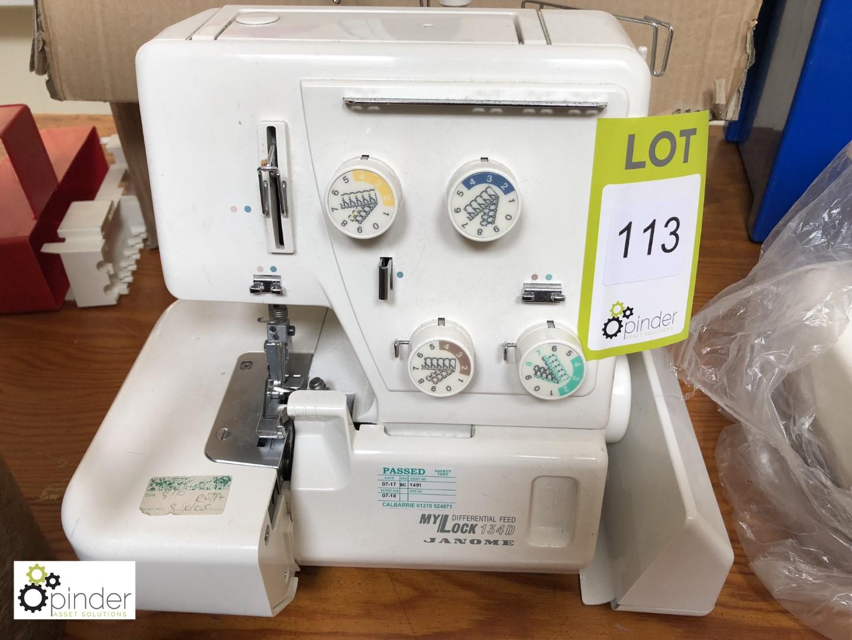 Lot 113 - Janome MyLock 134D 4-thread Overlocker (located in W602, level
