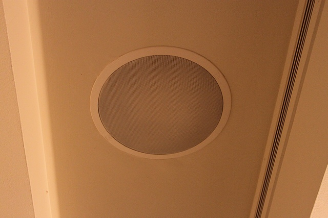Lot 54 - 9 x Electro Voice recessed ceiling speakers 300mm