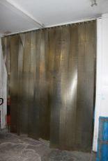 Lot 128 - PVC curtains 2900mm x 3100mm