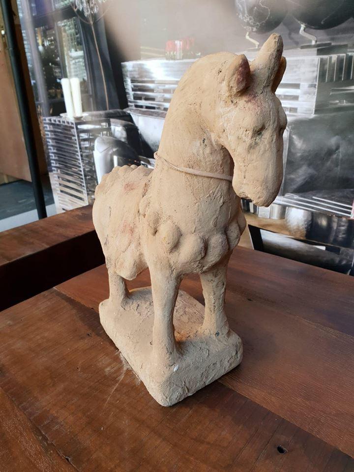 Lot 1 - Chinese Horse Sculpture Objets d'Art Decorative Accessories
