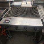"Lot 58 - Magicater LPC30 Outside use GAS GRILL Magicater Transportable Gas Grill, 30"", aluminized steel"