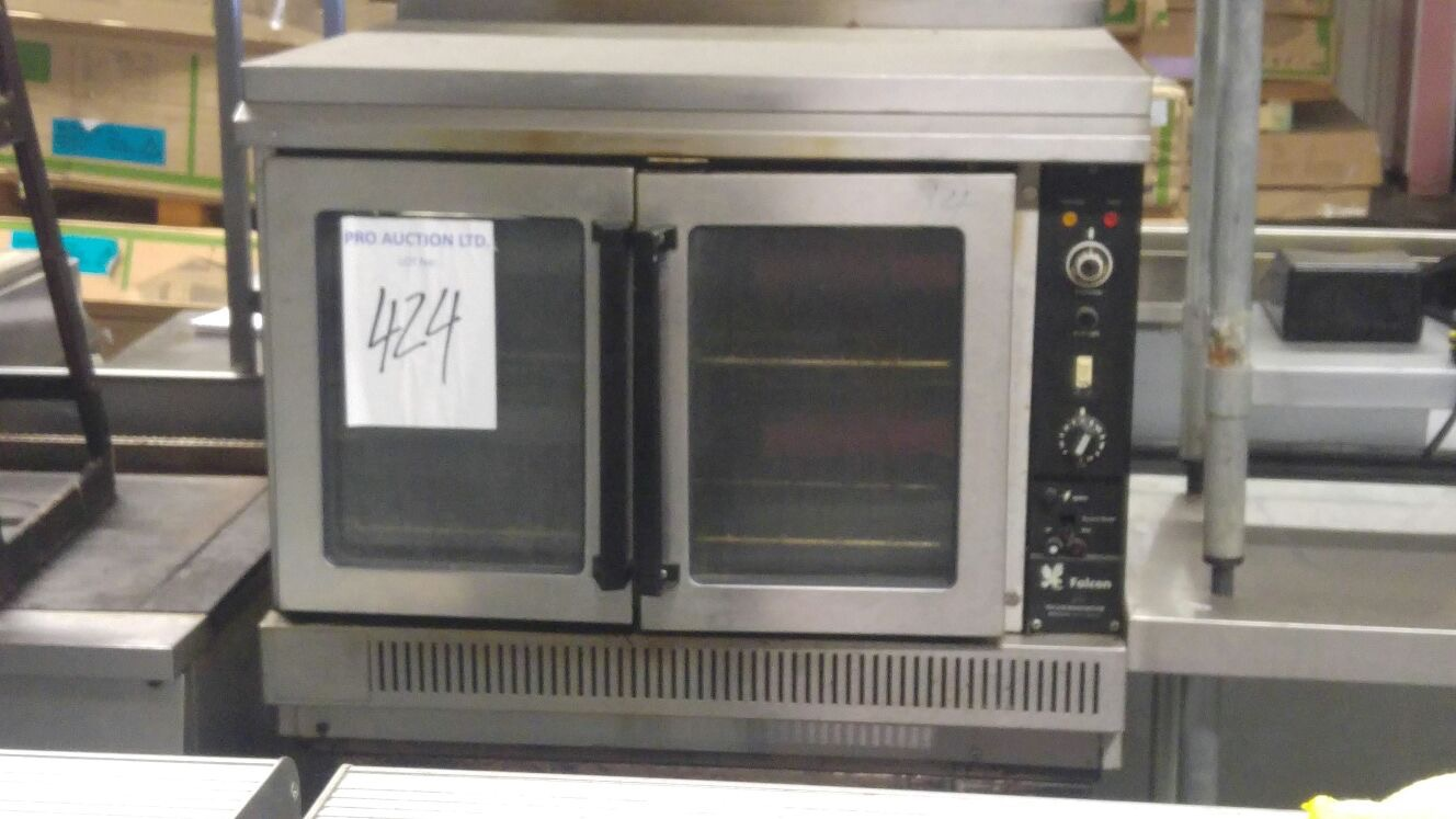 Lot 16 - Falcon double stack convection oven G1112 2 tier Gas Convection Oven Falcon gas ovens with fan