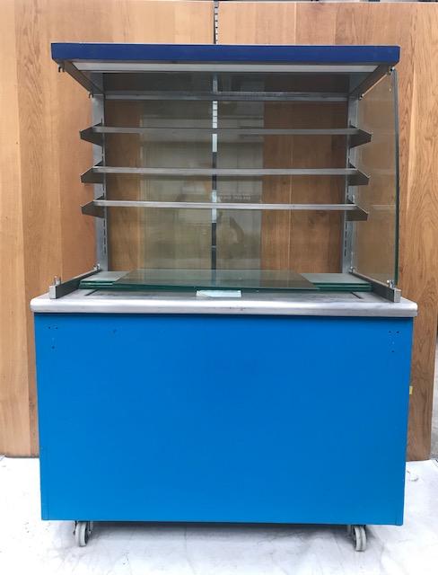 Lot 9 - Moffat Multi tier ambient unit Ambient Display Cabinet Moffat display unit with ambient shelving.