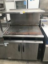 Lot 46 - Moorwood Vulcan Solid Top Solid top with oven and splashback Stainless steel coated solid top with