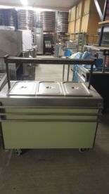 Lot 14 - Moffat Vesicate Royal 3 Hot Cupboard Hot Food display cupboard 1200 x 650 x 1200mm V/Ph/Hz. 230/1/50