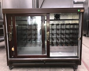 Lot 28 - WEALD WM42S Double door Back bar counter The Weald 4 Series range of bottle coolers with finishes in