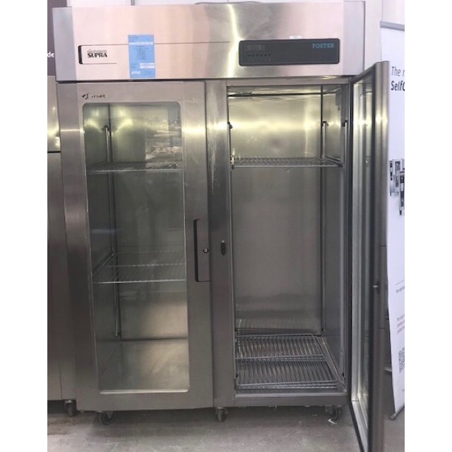 Lot 29 - Foster GS1440HP Gastronorm Double door pass through chiller A Foster double door 1350 litre with