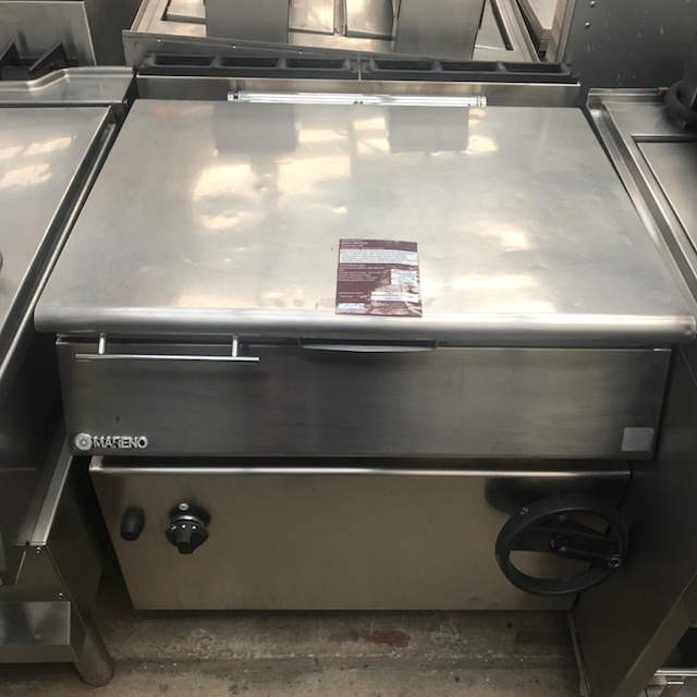 Lot 41 - Mareno NBR78GF Gas Bratt Pan Tilting bratt pans are the most practical and advanced solution for