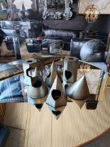 Lot 5 - Sculpture - Academie Shadow A Set Of 6 x Various Cast Steel Sculptures Objets d'Art Decorative