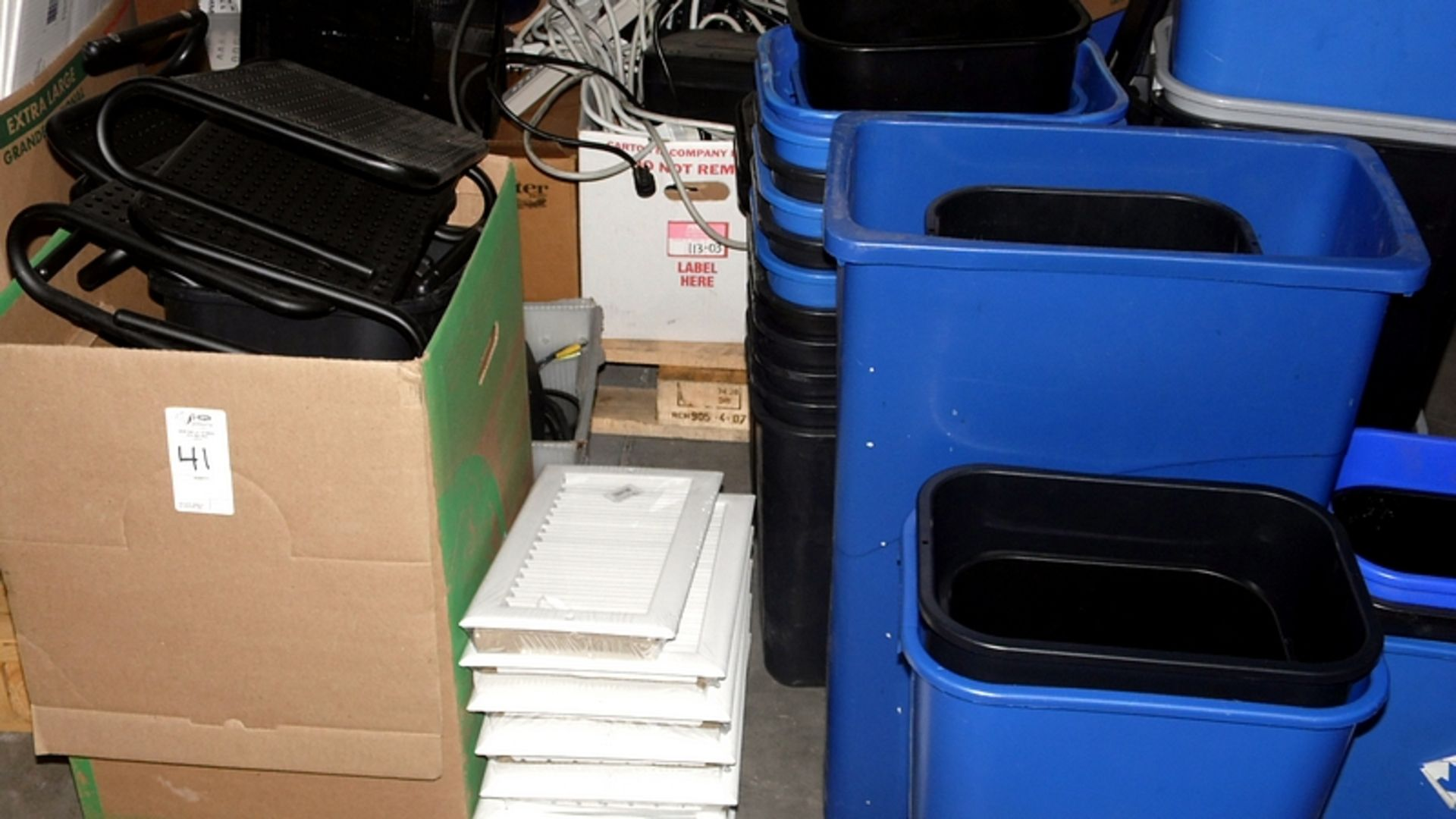 PALLETS OF OFFICE SUPPLY'S