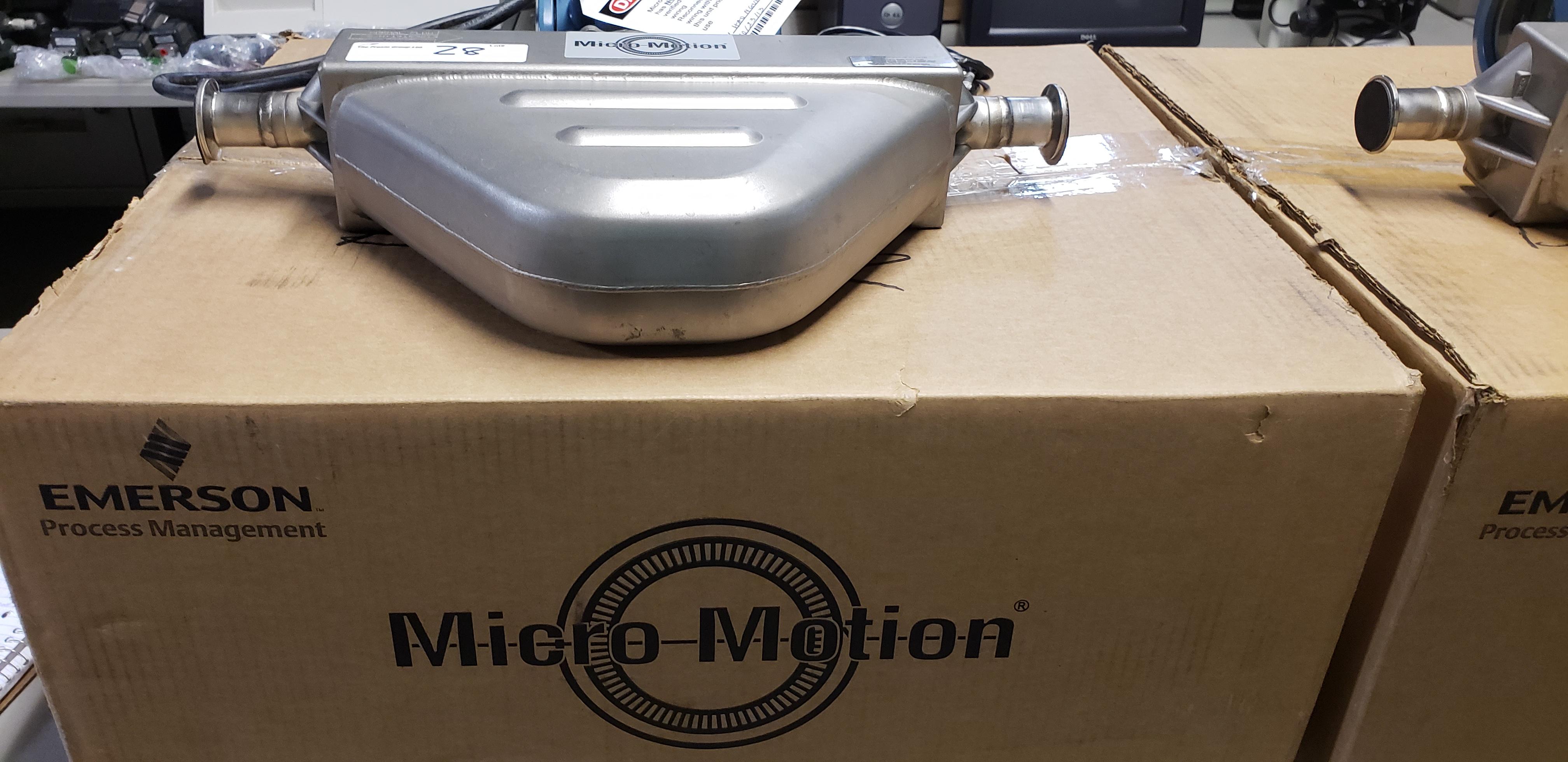 Lot 28 - Micro Motion Flow Meter w/ Sensor