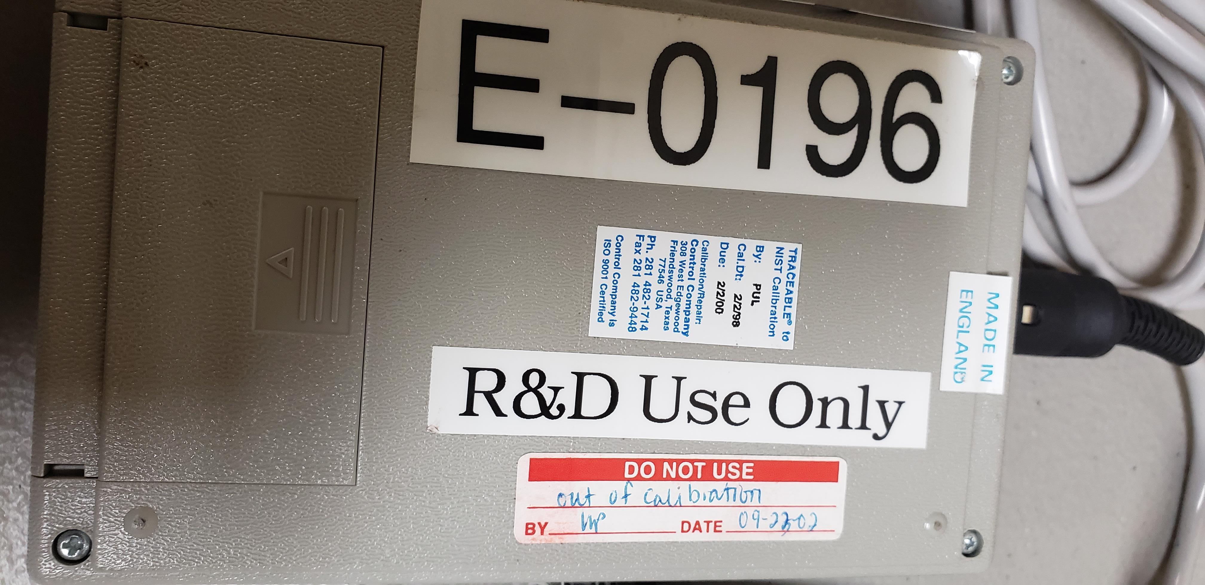 Lot 23 - VWR Digital Conductivity Meter