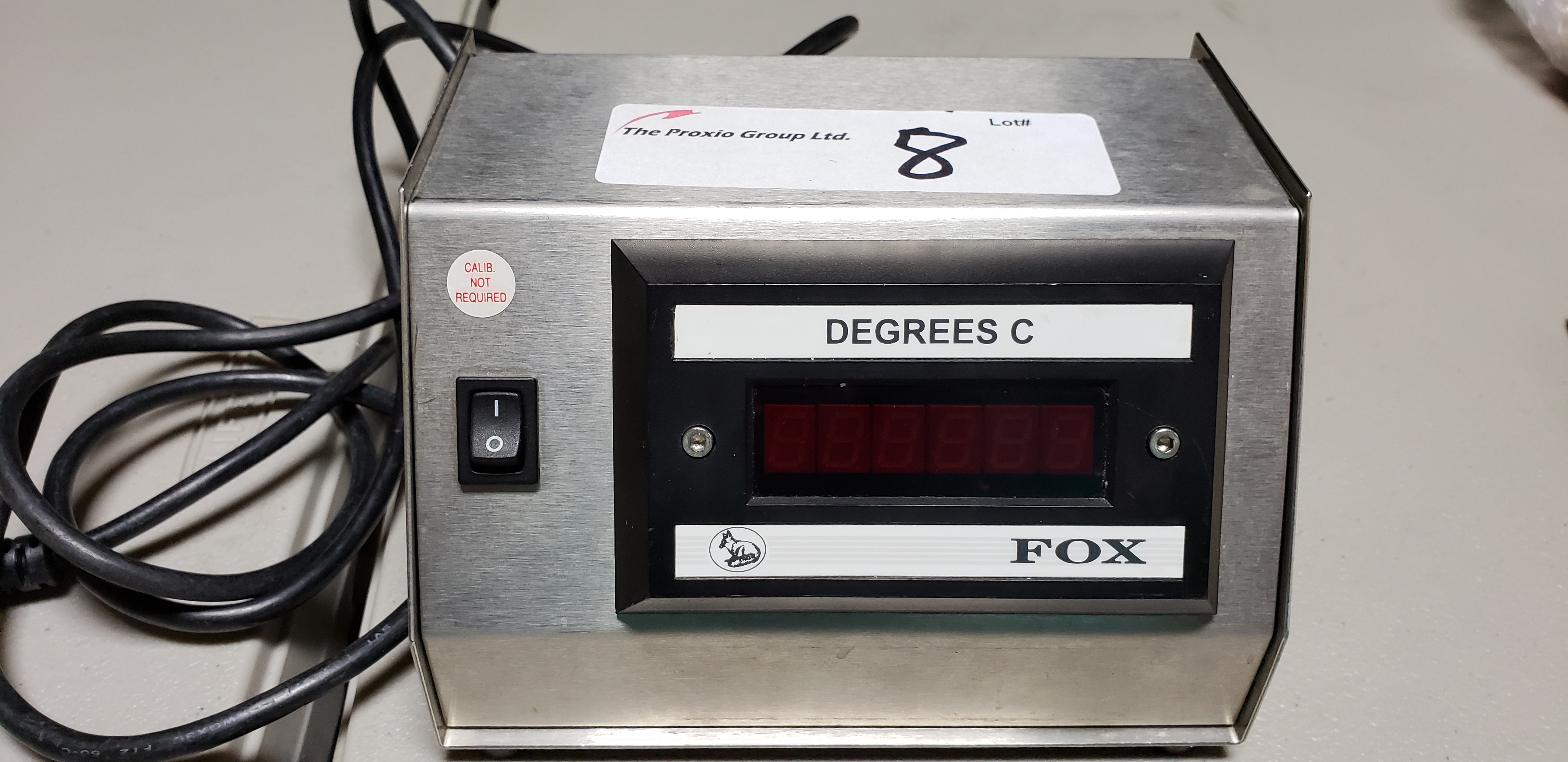 Lot 8 - Fox Digital Meter