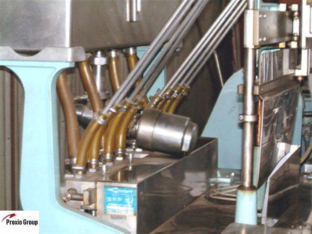 Lot 17 - Cozzoli LF840-8 Piston Filler ***See Auctioneers Note***