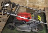 Lot 38 - Honda HRB475 self propelled lawnmower (no compression)