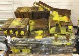 Lot 24 - 22x L43A1 Ammo tins (4 in 1)