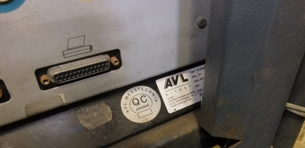 Lot 23 - Tecalemit TD Dismoke 5430 diagnostic trolley
